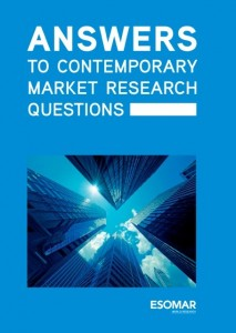 Answer to Contemporary Market Research Questions