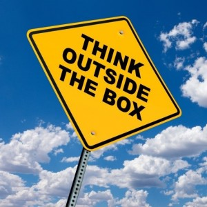 Think Outside The Box - Square Format